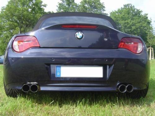 Eisenmann Endschalldämpfer Edelstahl Duplex (links/rechts) BMW E85 Roadster/BMW E86 Coupe mit Serien