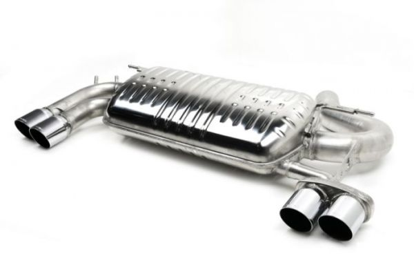 Eisenmann Racing Motorsport Sound Endschalldämpfer Edelstahl Endschalldämpfer Sport Duplex 4x76mm Gr