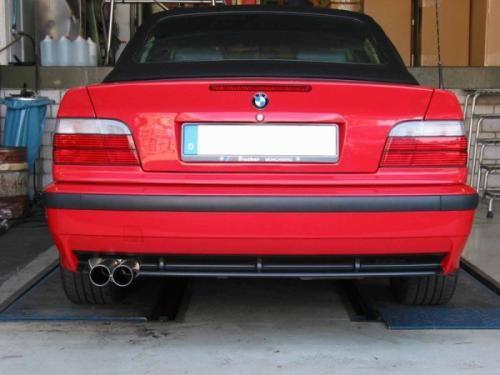 Eisenmann Endschalldämpfer Edelstahl Einseitig passend für BMW E36