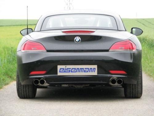 Eisenmann Racing rear muffler Motorsport Sound stainless steel Duplex (left + right) BMW E89 Roadster/BMW E89 Coupe