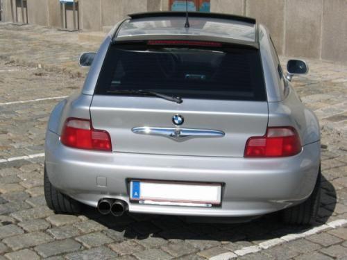Eisenmann rear muffler stainless steel single sided BMW E36/7/BMW E36/8