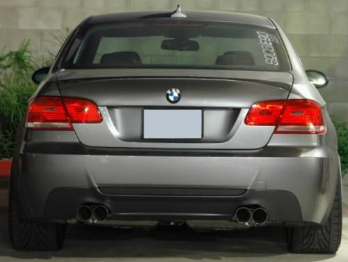 Eisenmann rear muffler stainless steel Duplex (left + right) BMW E90 Limousine/ sedan