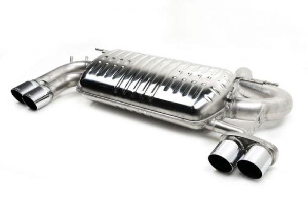 Eisenmann Racing Motorsport Sound Endschalldämpfer Edelstahl Duplex links/rechts 4x83mm passend für