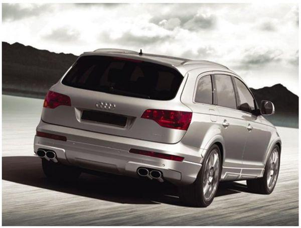 Eisenmann Endschalldämpfer Edelstahl ohne Endrohre Duplex (links/rechts) Audi Q7