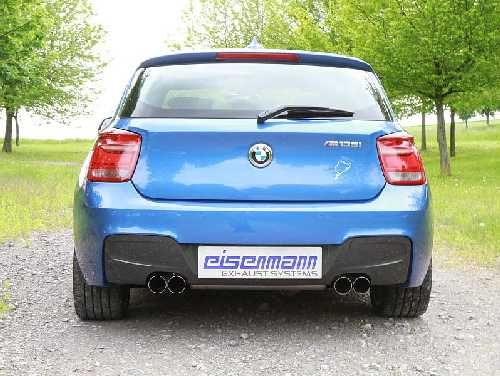 Eisenmann rear muffler stainless steel Duplex (left + right) BMW F20 M135i