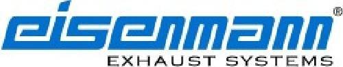Eisenmann rear muffler stainless steel single sided Mercedes-Benz W204 2012-
