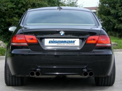 Eisenmann rear muffler stainless steel Duplex (left + right) BMW E92 Coupe/BMW E93 Cabrio/ convertible
