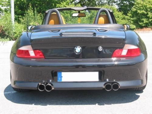 Eisenmann Endschalldämpfer Edelstahl Duplex (links/rechts) passend für BMW Z3