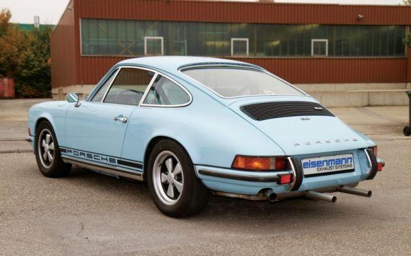 Eisenmann Classic Line Endschalldämpfer passend für Porsche F-Modell
