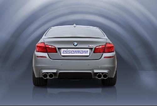 Eisenmann Racing rear muffler Motorsport Sound stainless steel Duplex (left + right) BMW F10 M5