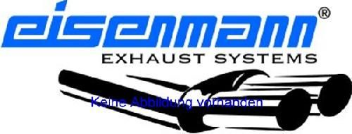 Eisenmann middle muffler and Racing rear muffler Motorsport Sound stainless steel without tips Audi TT RS Coupe 8J9