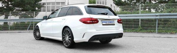 Eisenmann Enschalldämpfer Endschalldämpfer links/rechts passend für Mercedes-Benz W205