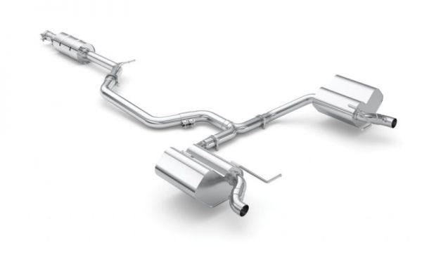 Eisenmann Abgasanlage Auspuffanlage ohne Endrohre passend für Skoda Octavia 5E