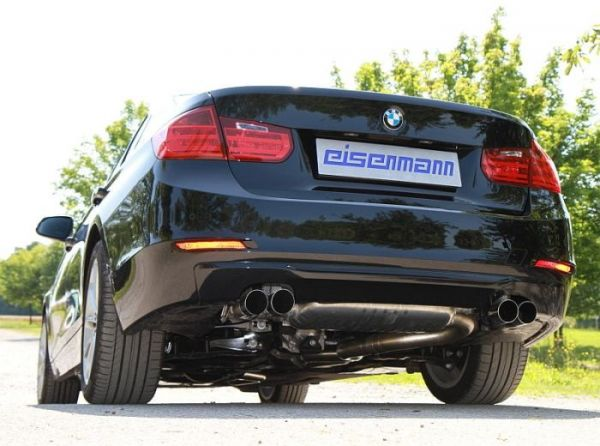 Eisenmann rear muffler stainless steel Duplex (left + right) BMW F30 Limousine/Touring